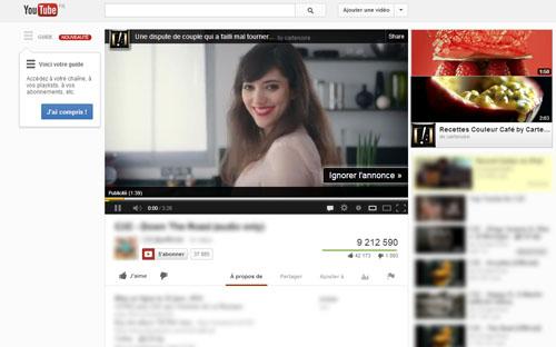 Tout commence par l'arrivée de cette brune sur Youtube. Allez-vous ignorer l'annonce ?