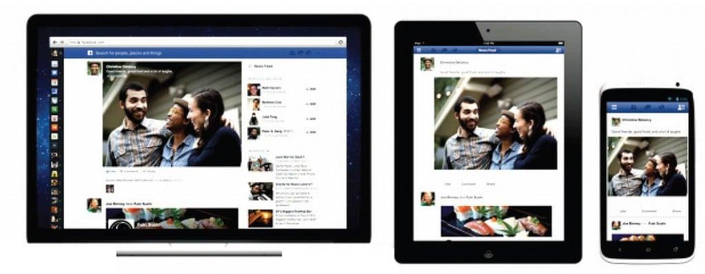 Le nouveau Facebook sur toutes les plateformes